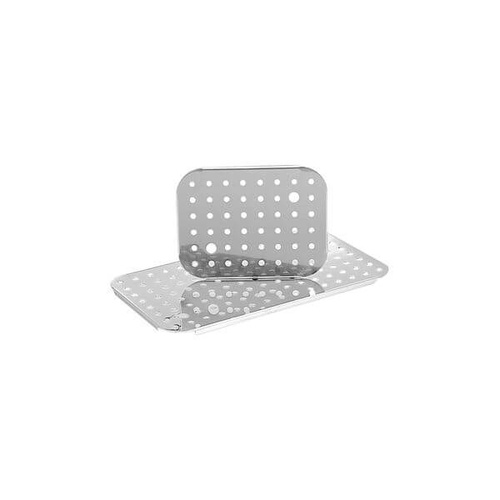 Pujadas Gastronorm Drain Plate - 2/1 Size - 18/10 Stainless Steel