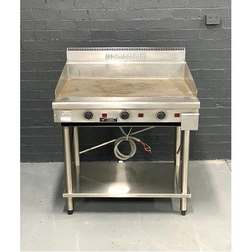 Pre-Owned Goldstein 900mm Griddle on stand - Electric