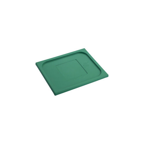 Polypropylene 1/2 Gastronorm Lid Green
