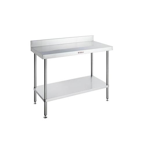 Simply Stainless Work Bench with Splashback 600 Series