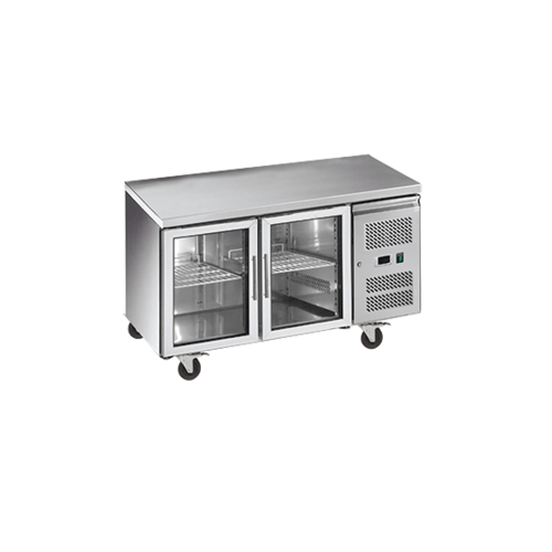 Exquisite SSC260G - 2 Door Slimline Under Bench Storage Fridge