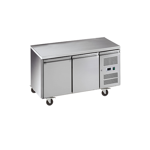 Exquisite SSC260H - 2 Door Snack Size Under Bench Fridge