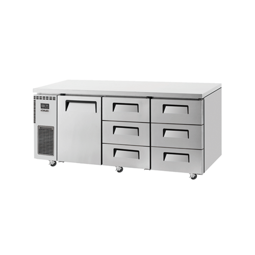Skipio SUR18-3D-6 Under Counter Fridge - 1 Door & 6 Drawers