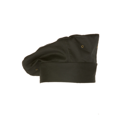 Chef Works Black Cool Vent Toque - TOCV-BLK