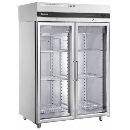 Inomak UFI2140G Double Glass Door Freezer