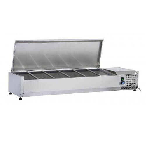 Saltas VRX1500S S/S Refrigerated Ingredient Unit
